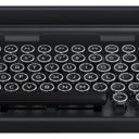 Wireless Typewriter Keyboard