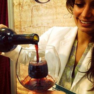 Aerating Wine Glass