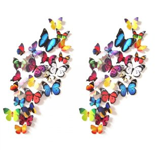 3D Colorful Butterfly Wall Stickers