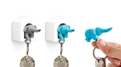 Elephant Key Ring Duo