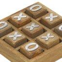 Handmade Wooden Tic Tac Toe