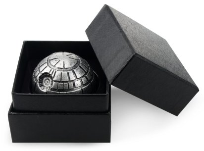 Death Star Wars Zinc Alloy Herb Grinder
