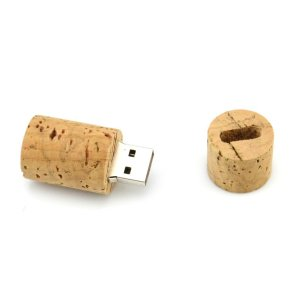 4GB Round Wood USB Flash Drive