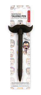 Mustache Talking Pen