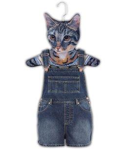 Gray Cat Hanger