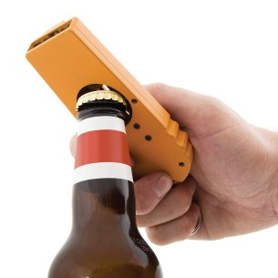 Beer Bottle Opener Cap Launcher