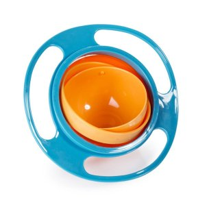 Spill Resistant Gyro Bowl