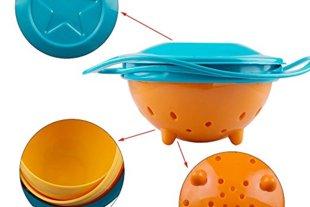 Spill Resistant Gyro Bowl
