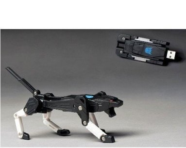 Transformer USB Flash Memory Drive