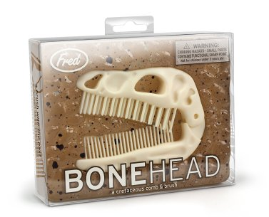 Fred BONEHEAD Folding Brush & Comb