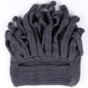 Unisex Barbarian Knit Beanie Octopus