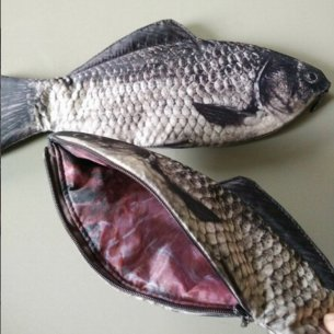 Carp Fish Zipper Pouch