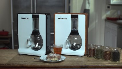 Tea-Square Personal Craft Tea and Coffee Brewer
