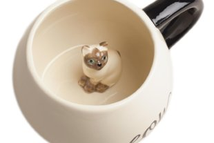 Surprise Cat Coffee Mug
