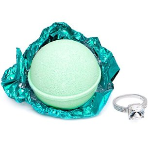 Bath Bomb with Ring Inside
