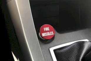 Fire Missiles Button Car Cigarette Lighter