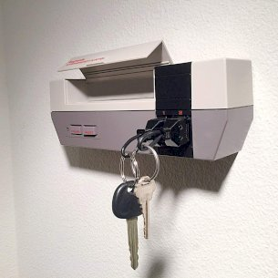 Gaming Console Key Holder