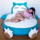 Giant Snorlax Bed