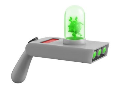 Rick & Morty Portal Gun Toy