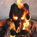 Demon Fire Pit Skull