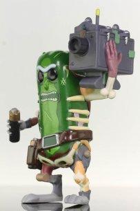 Pickle Rick Figurine