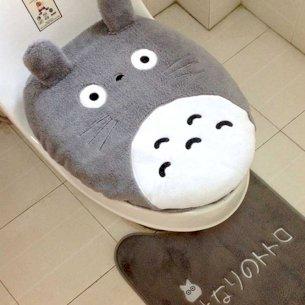Totoro Toilet Cover