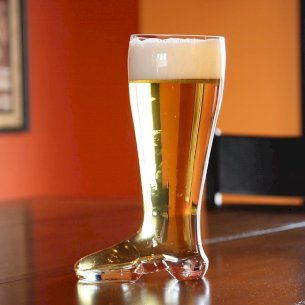 Boot Beer Glass