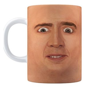 Creepy Cage Face Mug