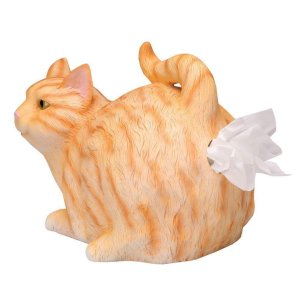Cat Tissue Holder