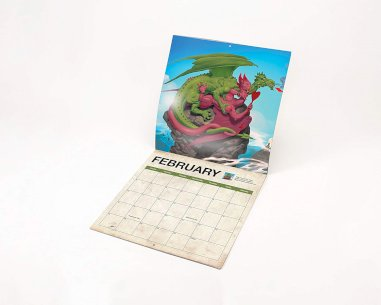 Dragon Sex Calendar