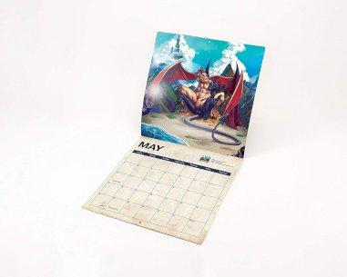 Dragon Sex Calendar