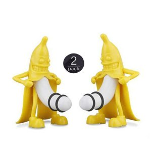 Mr. Banana Wine Bottle Stopper