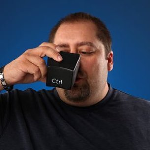 Ctrl Alt Del Keyboard Mug Set