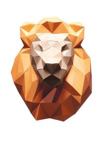 Papershape Lion